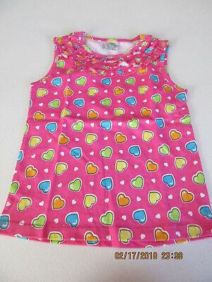 Nwot : Unbranded, Toddler Girl's Multi-Color Cotton Sleeveless Tee [Size 4T]