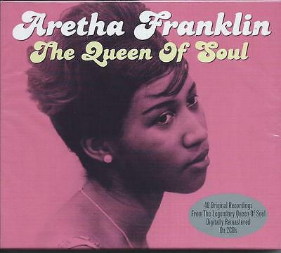 Aretha Franklin - The Queen Of Soul - 40 Original Recordings 2CD NEW/SEALED