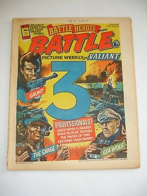 BATTLE PICTURE WEEKLY and VALIANT comic 2nd July 1977