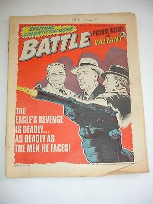 BATTLE PICTURE WEEKLY and VALIANT comic 28th May 1977