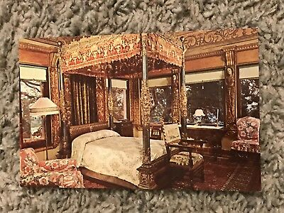 VTG 1966 Post Card, Hearst, San Simeon, State Historical  Monument, Bed