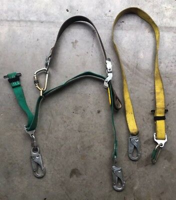Buckingham Bucksqueeze Fall Protection 483D  And Safety Lanyard