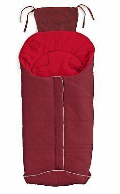 Genuine Jane Nest Basic Footmuff - Crimsom - Red Brand New In Bag