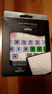 XSKN EXO Soft Touch Keyboard Cover Silicone Skin for Mac Extended Keyboard