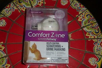 Comfort Zone Feliway Diffuser Kits Refills and Sprays for Cat Calming NEW