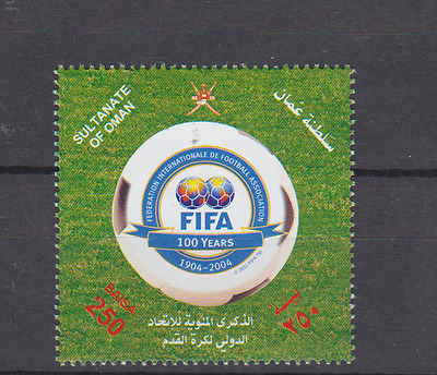 Oman 2004 Fifa Football Centenary Complete Set Mint Never Hinged