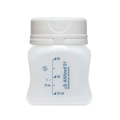 11 Axifeed Milk Storage Bottles Compatible with Ameda & Medela pumps