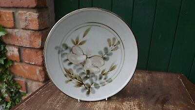 Highland Stoneware large plate for wall hanging