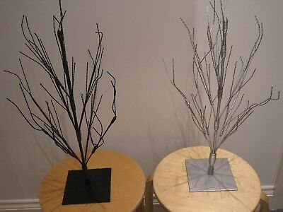 Metal Display Trees-Black Or Silver (Ideal For Shop Display/ornament/christmas)