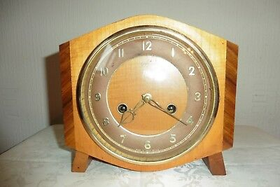 Lovely Vintage Smiths Striking Mantle Clock ( Working )