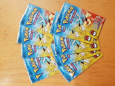 10 x Pokemon Pop Series 3 Booster (NEW & SEALED, Rare and Hard to Find)