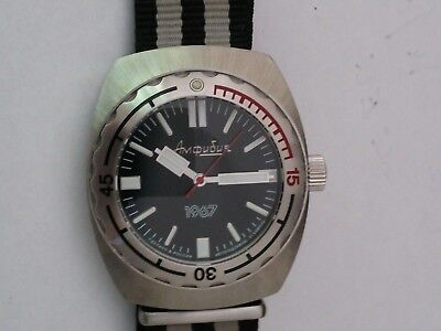Vostok Amphibia 1967 Limited First Edition Russian Automatic Divers Watch