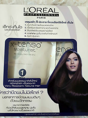 L'oreal XTenso Very Resistant Permanent Hair Straightener Straightening Kit