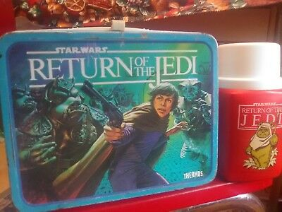 Star Wars Return Of The Jedi Lunch Box And Thermos!
