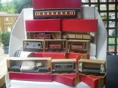 Trix Wagons And Coach Job Lot All Boxed And In Lovely Condition
