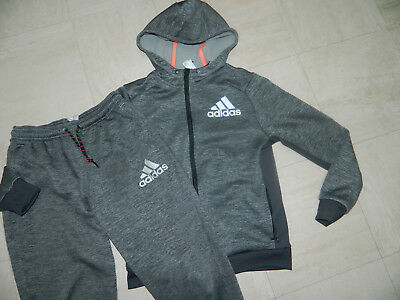 Boys Adidas Sports wear Hoodie Full Tracksuit Age 11-12 years