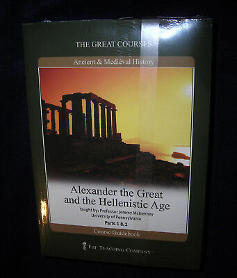 Alexander the Great and the Hellenistic Age -Great Courses  DVDs BRAND NEW