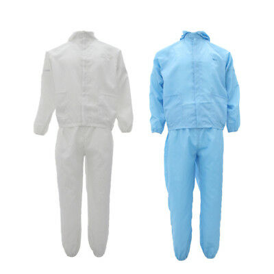 Reusable Antistatic Suit Protective Overall Coverall Sprayer Overalls L XL