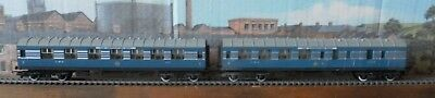 "2 Hornby ""Coronation Scot"" coaches"
