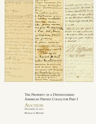 ** Profiles in History - Movie Auction catalog #54 - American Collector (new)