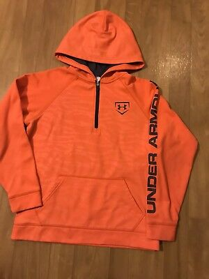 Under Armour Light Weight 1/4 Zip Pullover Boy's Size YLG