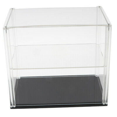 Double Layer Acrylic Show Case for Model Figures Protection Box 23x15x20cm