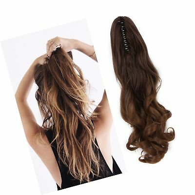 Neverland Beauty 20(50cm) Ombre Two Tone Long Big Wavy Claw Curly Ponytail