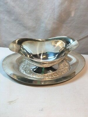 Towel  Contessina  Silver-plated Gravy Bowl flower print 6668