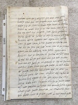 c. 1570 LETTER OF THE QUEEN OF FRANCE TO THE FAMED OTTOMAN AMBASSADOR - RARE