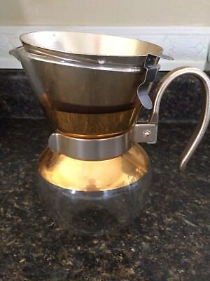 Coffee Maker Vintage Pour Over Glass MCM