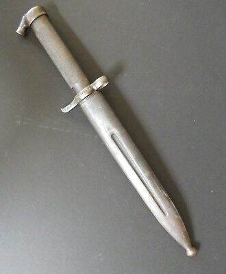 Swedish Bayonet for1896 Mauser with Scabbard.  Excellent condition
