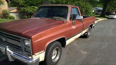 1986 Chevrolet C-10 Scottsdale Chevrolet C10 Pickup