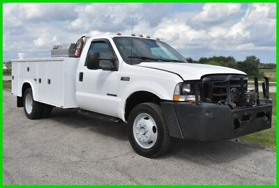 Ford F-550 Chassis  2002 Used Turbo 7.3L V8 16V Automatic 4WD