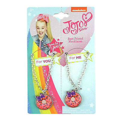 JoJo Siwa Necklace Set Best Friend Sisters Necklaces Fashion Nickelodeon Merch