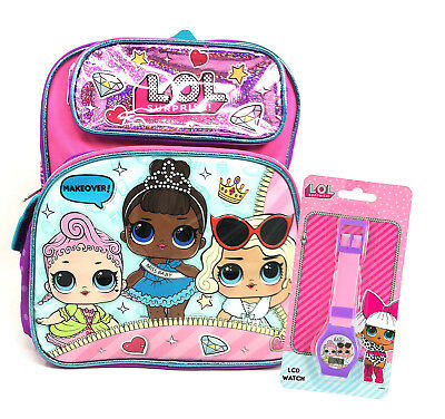 Responsible Lol Surprise Makeover Backpack Multi-color Brand New Dolls & Bears