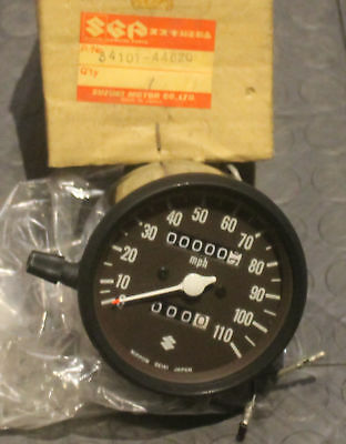 NOS Suzuki 1977 GS400 Speedometer #34101-44620 NEW BIN H