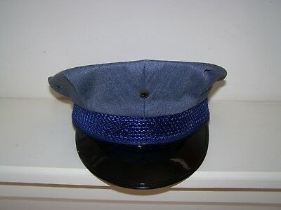 Vintage Firefighters/Police Uniform Hat size 6 3/8 Exellent condition.