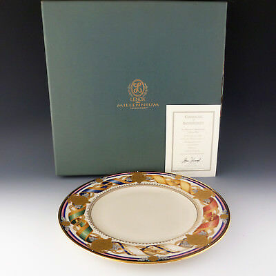 Lenox China American Commemorative Collector Plate Millennium 80 Yrs White House