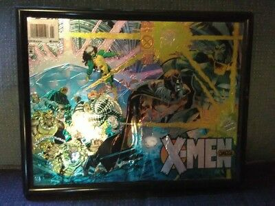 X-Men Omega#1 Age Of Apocalypse Chromium Framed Wall Picture Cover Marvel Comics