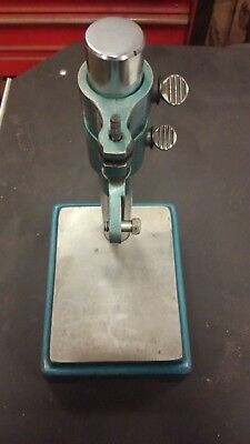 """Machinist Comparator Stand - 4""""x5""""- 8"""" post."""