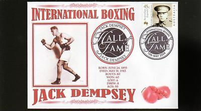 Jack Dempsey Inter' Boxing Hall Of Fame Inductee Cover