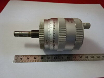 Mitutoyo Huge Micrometer Screw Positioning  Measure Microscope Part As Is &99-05