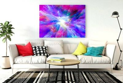 Abstract stunning  ,High Quality Canvas Framed wall art  ready to Hang