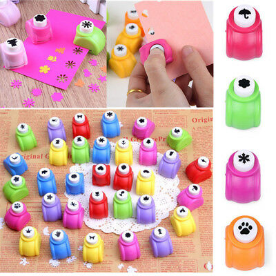 1x Mini Paper Hole Punch Cutter Hand Shaper Scrapbook Cards Craft Kid DIY Tools