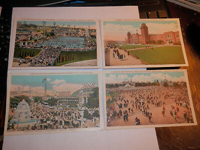 Toronto Canada - 4 Old Postcards - Canadian National Exhibition - Coliseum
