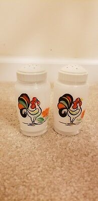 Bartlett Collins salt and pepper shakers Proud Rooster