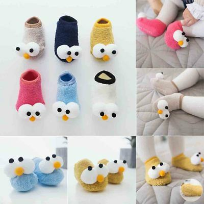 Sweet Baby Toddler Anti-Slip Grip Socks Floor Socks Indoor Shoes Kids Xmas Gifts