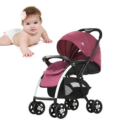 Adjustable Baby Carriage Stroller Prams Travel system Sunshade Pushchairs Buggy