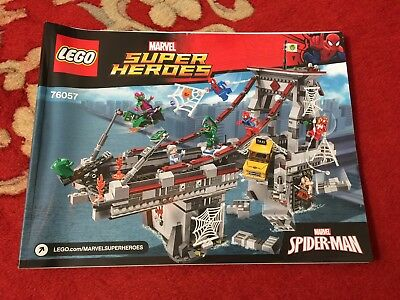 Lego Instructions To Combine Four 76057 Spider Man Ultimate Bridge