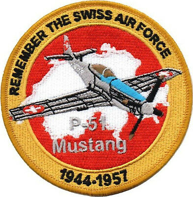 Swiss Aie Force P-51 Mustang 1944-1957
